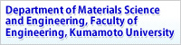 Department of Materials Science and Engineering, Faculty of Engineering